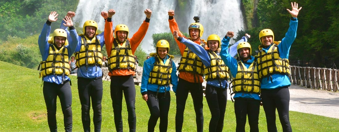 Come Vestirsi per fare Rafting