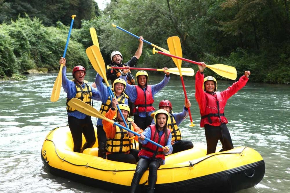 rafting soft per i bambini a pasqua