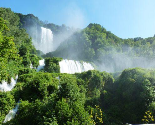 Lo stupore della natura Nel parco fluviale del Nera, Cuore verde dell'Umbria