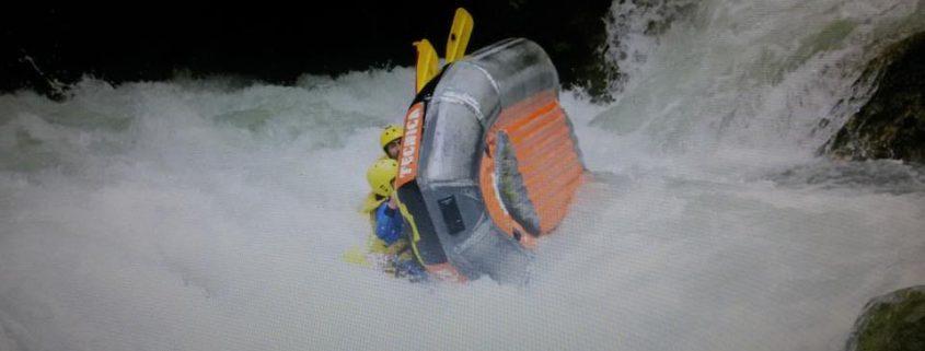 Cappottamento Rafting