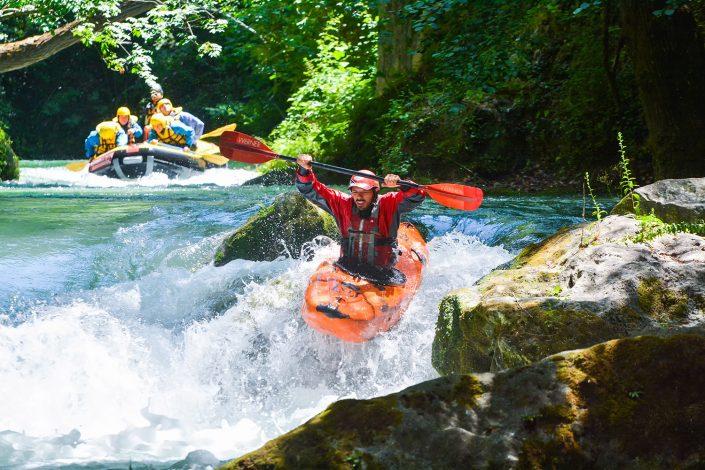 Kayak a Rafting Marmore