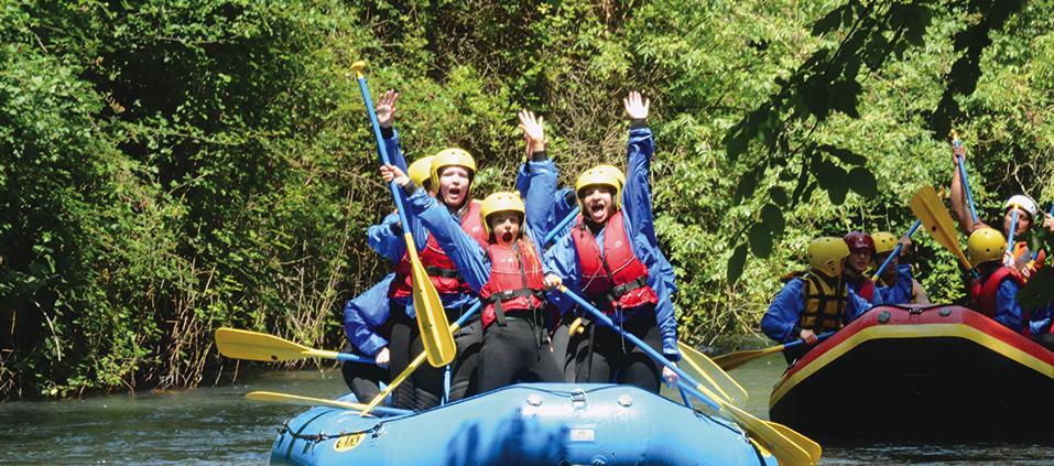 Soft Rafting Parco fluviale del nera tra Ferentillo ed Arrone