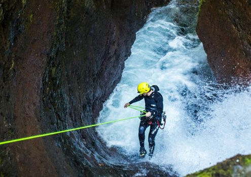 Torrentismo-Canyoning