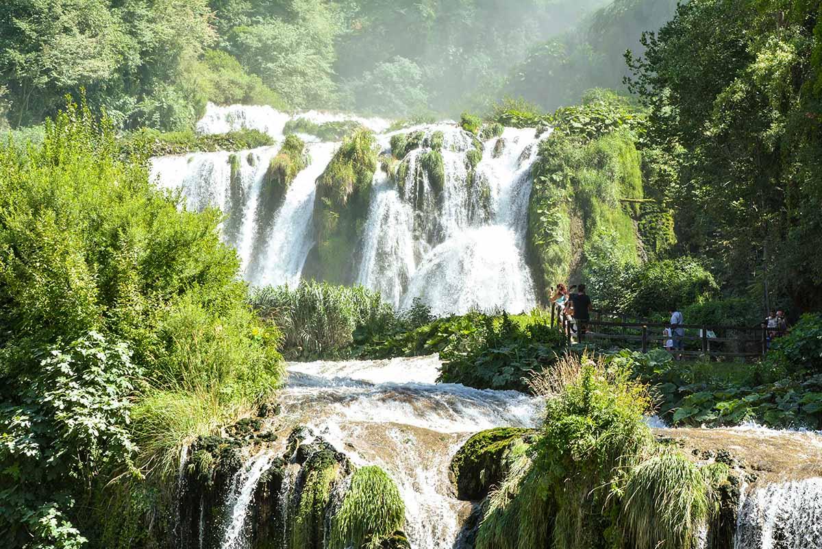 Foto della Cascata delle Marmore in Umbria
