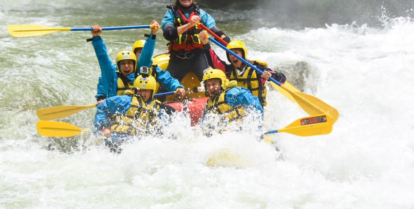 addio al nubilato in Umbria Rafting