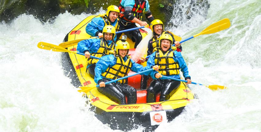 rafting e attività per Donne