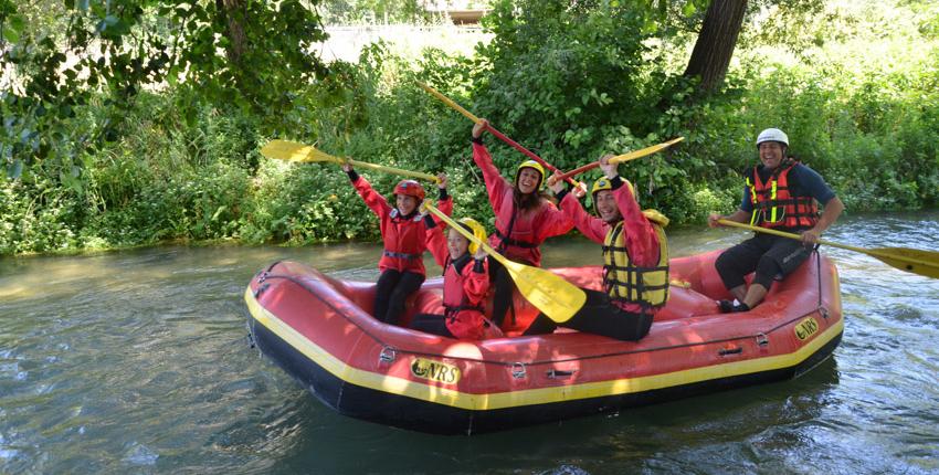 rafting soft per famiglie e bambini