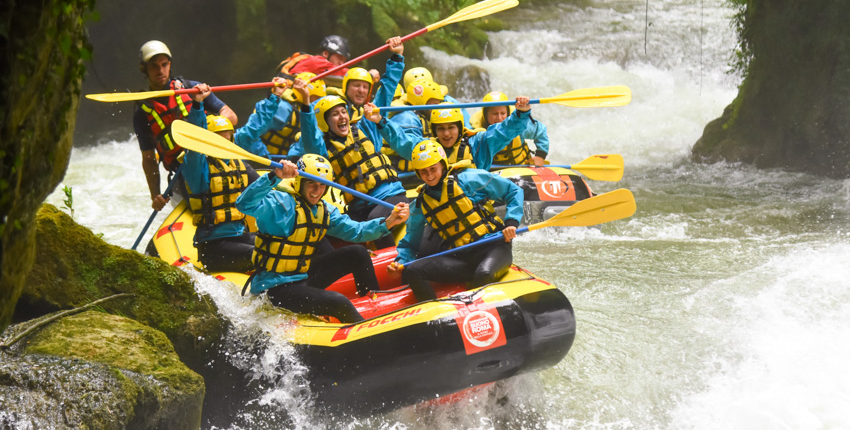 Rafting in umbria giornata di divertimento