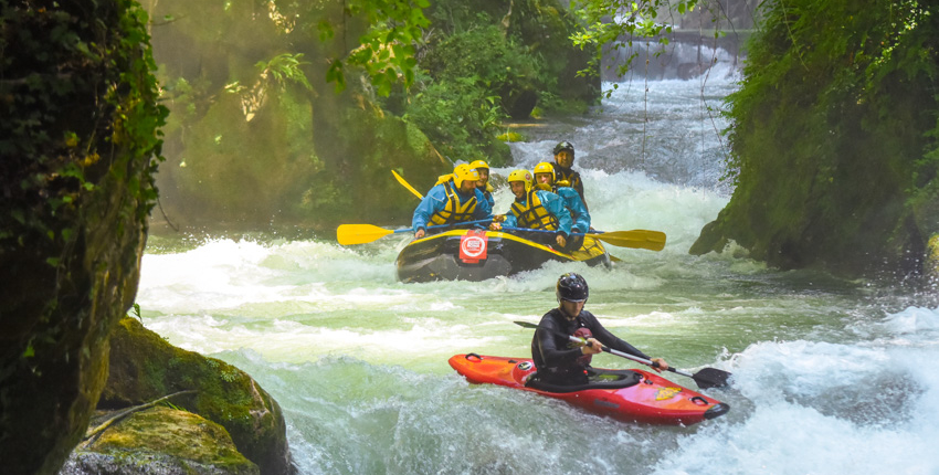 rafting e kayak in umbria