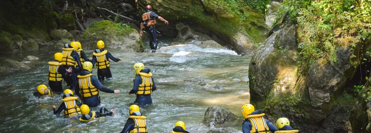 river walking al centro rafting marmore