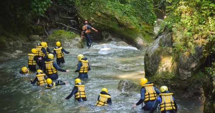river walking al centro rafting marmore