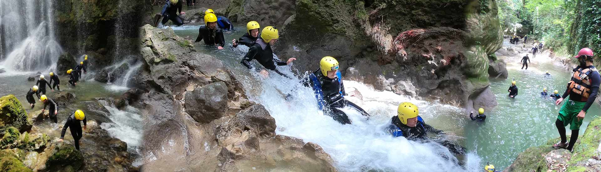 River Walking presso Rafting Marmore in Umbria