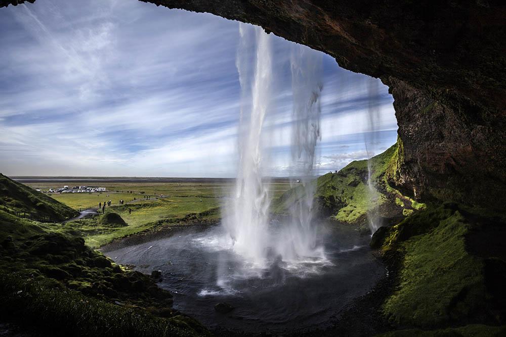Foto della Cascata di Seljalandsfoss