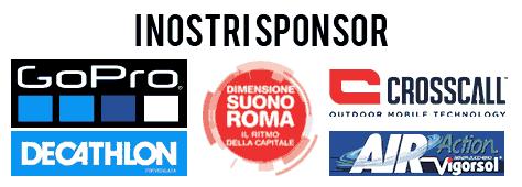Gopro Decatlhon Dimensione Suono Roma Crosscall sono gli sponsor di Rafting Marmore